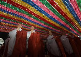 .佛教人士祈愿韩朝首脑会谈取得成功.