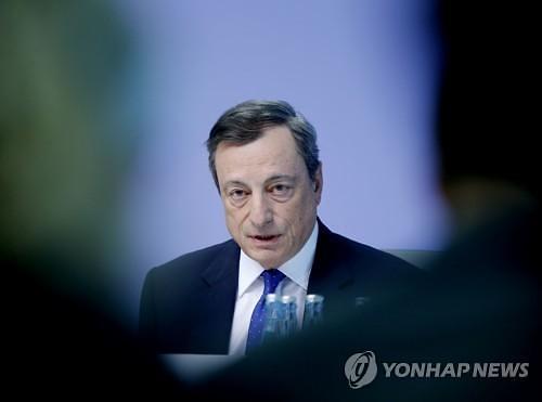 """유럽중앙은행, 정책금리 동결…""""9월까지 채권매입 지속"""""""