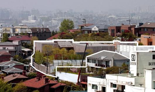 首尔近6千万元单独住宅21栋 李健熙会长住宅以1.5亿元居首