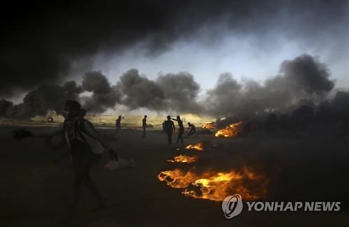가자지구 유혈사태 둘러싼 갈등 주변으로 확산