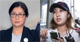 .韩国亲信干政案崔顺实母女时隔1年半首次会面.