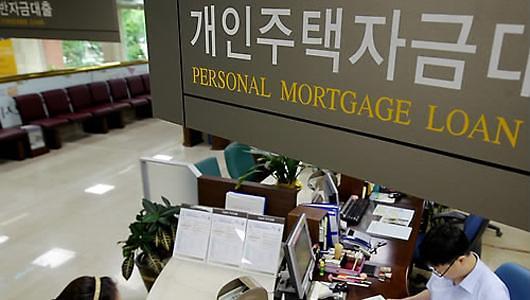 一季度韩国家庭开支贷款利率2.38% 2年6个月后最高