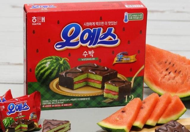 夏天=水果味? 韩食品界又来搞事情