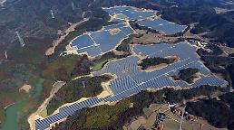 .LG CNS builds solar power plant on abandoned golf course in Japan.