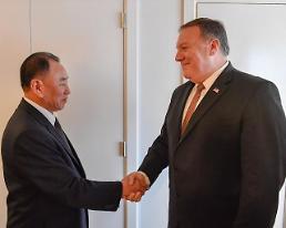 Pompeo cites progress in talks with N. Korea: Yonhap