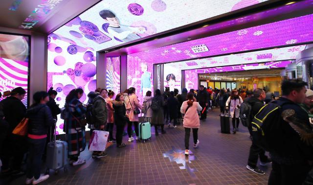 中国游客仍是韩国旅游业的潜在巨头