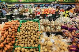 Korean food prices on steady rise due to cold spell: OECD