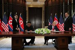 .[SUMMIT] Trump pledges security guarantees in return for denuclearization.