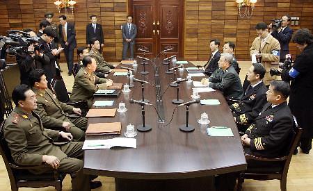 韩朝将军级军事会谈代表团名单出炉