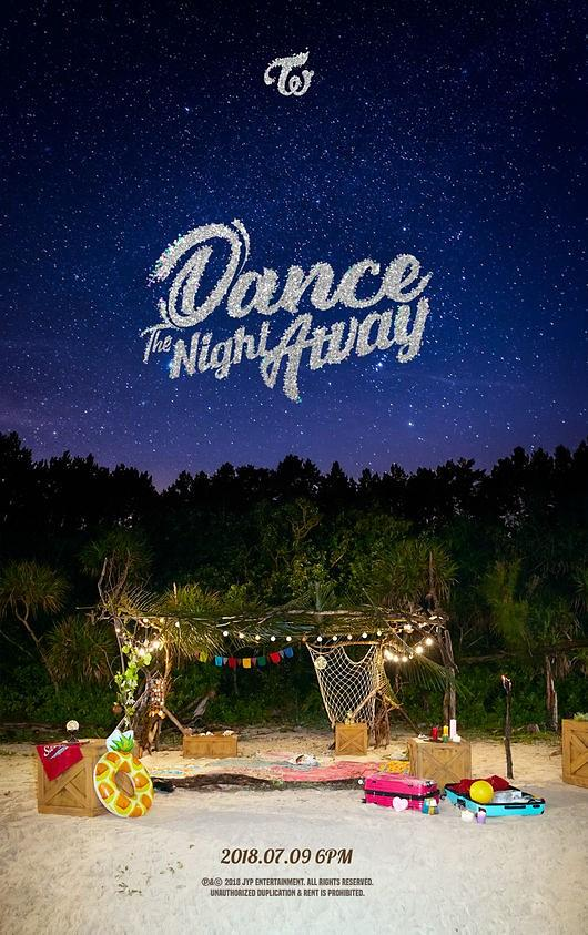 Twice定于下月9日回归 发布新曲《Dance The Night Away》
