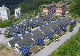 .Renewable energy supply more than doubles in S. Korea.