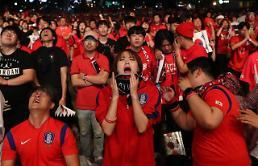 """.韩国队进16强希望渺茫 食品界""""世界杯""""营销不温不火."""