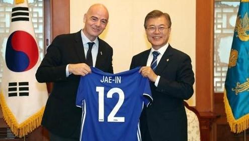 文在寅将现场观看世界杯韩墨赛 创韩总统之首