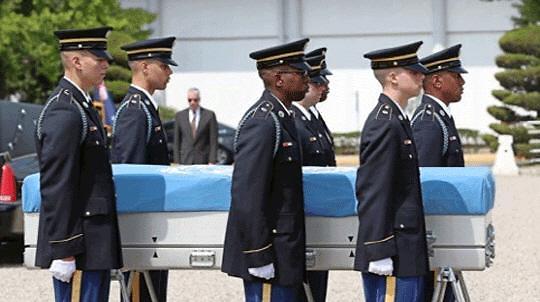 CNN:朝鲜将几天内归还最多200具美军遗骨