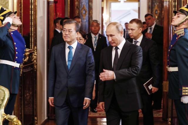 """[전문] 한러 공동성명…""""한반도·동북아 항구적 평화 노력"""""""
