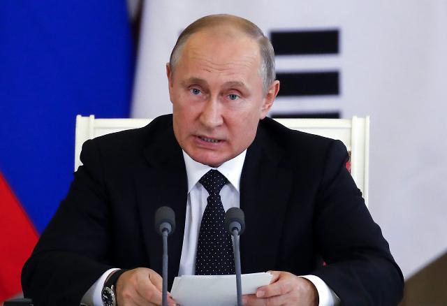"""푸틴 대통령, """"한국은 아태지역의 중요 파트너…한러 간 협력 발전할 것"""""""