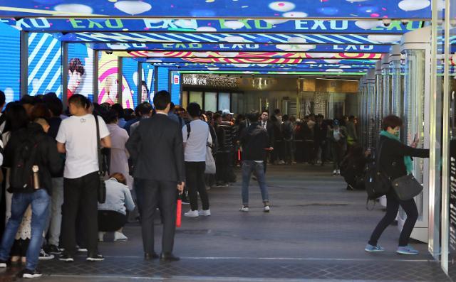 除了中国其他国家游客都在增长 今年访韩外国游客有望突破千万人大关