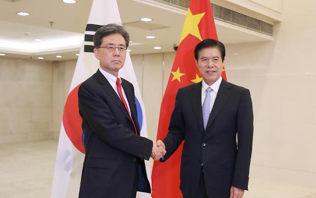 韩国通商交涉本部长金铉宗会中国商务部部长