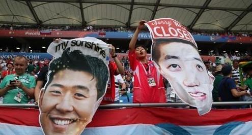 孙兴慜赵贤佑入选BBC世界杯最佳11人