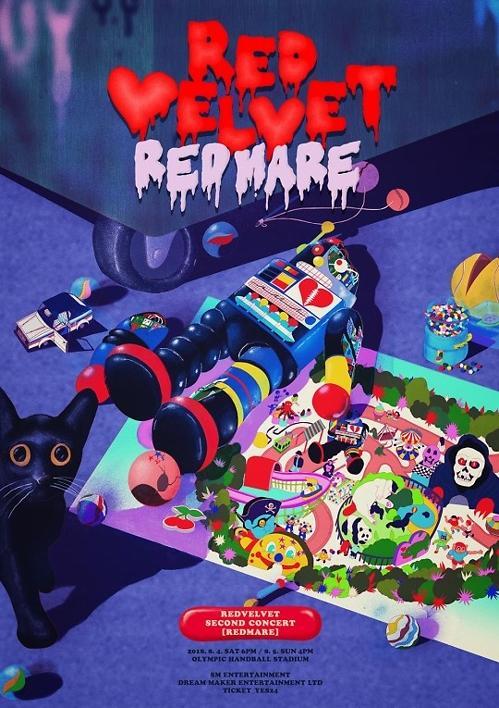 Red Velvet下月首尔举行单独演唱会