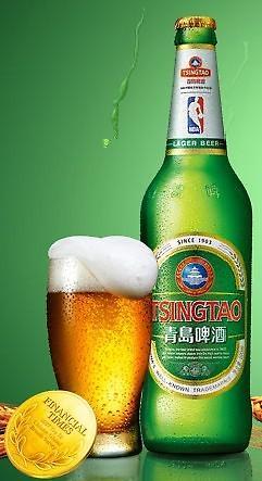 칭다오맥주 15년 연속 중국 맥주 브랜드 1위