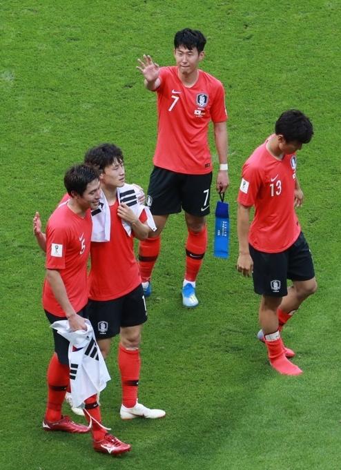 亚洲球队告别世界杯 韩日踢出东亚尊严