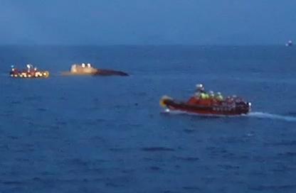 군산 어청도 앞바다서 어선 전복…선원 4명 구조·1명 실종