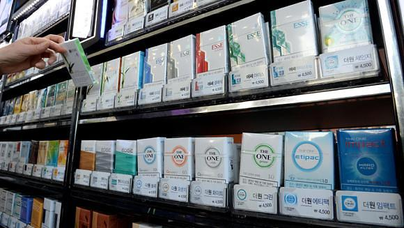 韩国便利店里香烟为什么不打折?