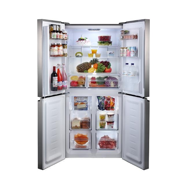 ハイマート、1~2人世帯向けの4ドア冷蔵庫発売