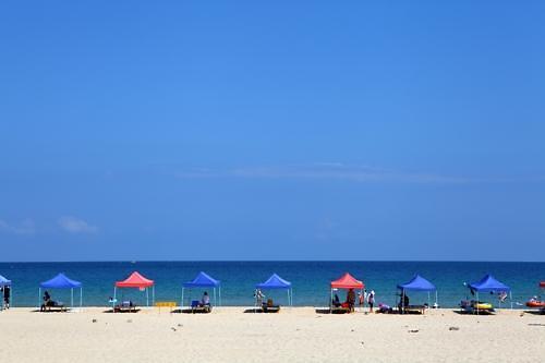 韩国人夏季旅游目的地首选海水浴场