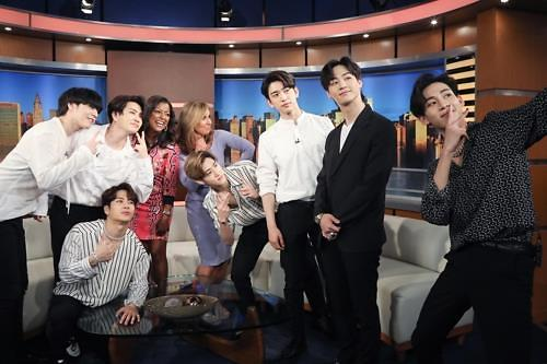 GOT7出演美国脱口秀《Good Day New York》