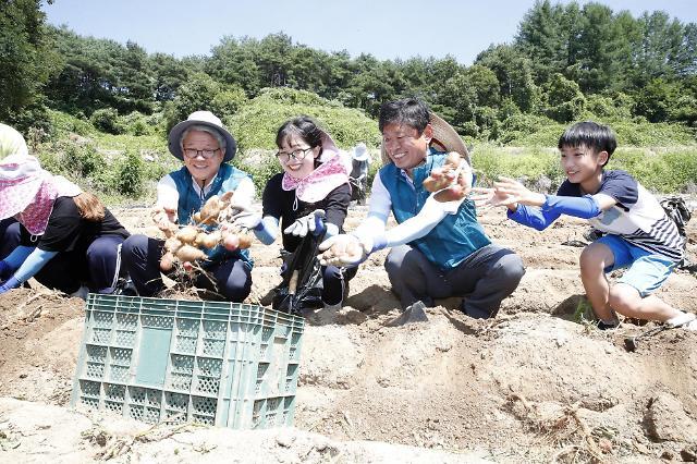 농진청, 민‧관‧산‧학 협업 봉사활동 '이동식 농업종합병원'