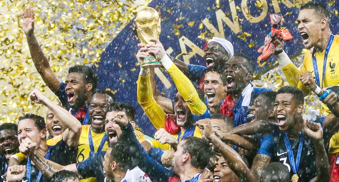 [포토] 프랑스, 20년 만에 월드컵 정상 탈환
