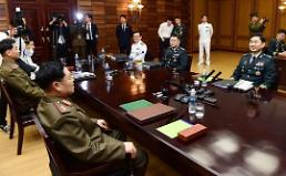 .Koreas restore military communication line using optical cables.