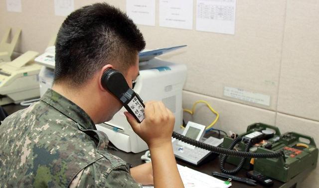 韩朝西海岸军事通信线修复完成