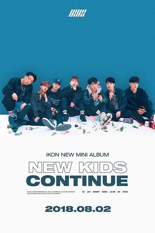 男团iKON下月携新辑回归乐坛
