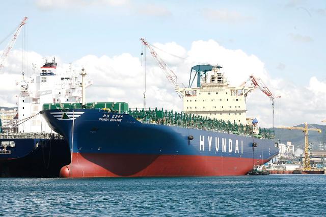 현대상선, 2분기 컨테이너 연료절감 우수선박 포상