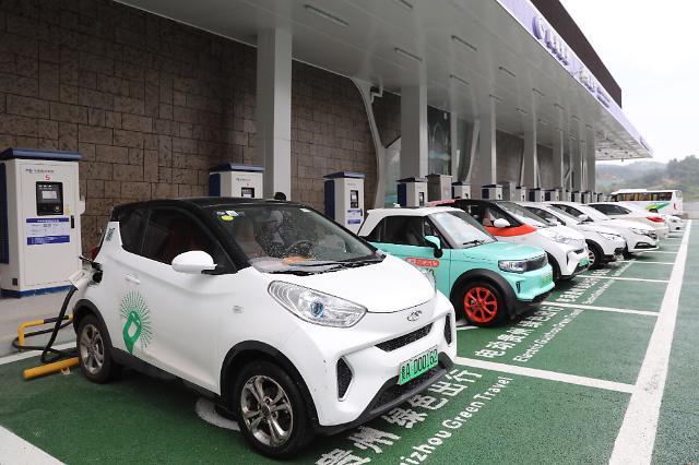 日 2050년 이후 내연기관 차량 생산금지…전기차 보급 확대