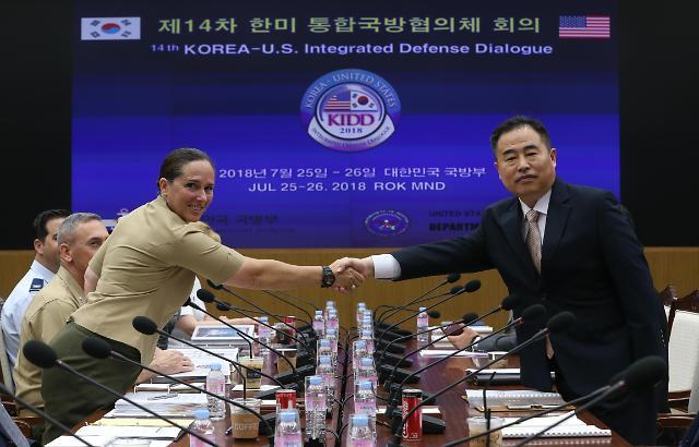 韩美军方商定争取10月签移交战权文件
