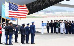 N. Korea repatriates first batch of American troop remains on day of victory