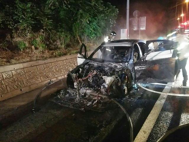 宝马520d又发生自燃事故