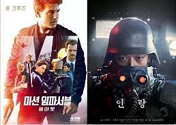 """.《碟中谍6》vs《人狼》 上映第一周票房""""冰火两重天""""."""