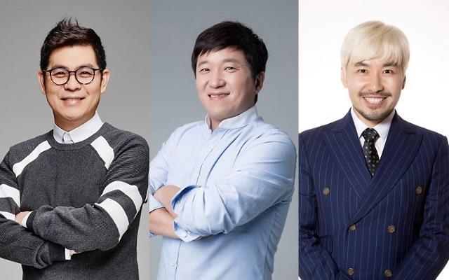 """김용만-정형돈-노홍철, FNC엔터와 재계약 체결…""""남다른 신뢰 바탕"""" [공식]"""