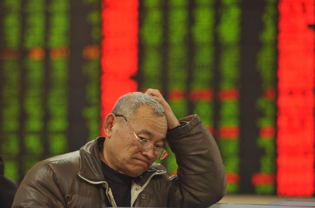 [중국증시 마감] 日에 세계 2위 뺏긴 中 증시, 급락세 지속