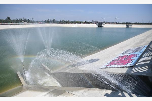 [중국포토] 대륙서 물 공급받는 대만