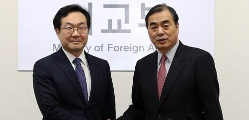 朝核六方会谈韩中团长今在北京会晤
