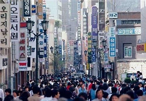 韩国2017年人口5178万 平均年龄41.5岁