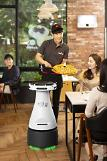 .S. Korean food delivery giant to operate autonomous robot to deliver pizza for first time.