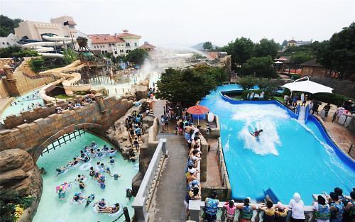 韩国大型水上乐园化合余氯含量严重超标