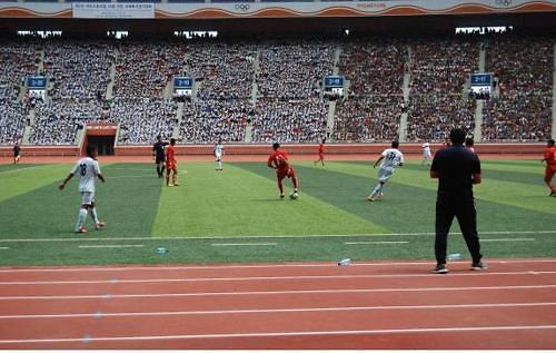 韩批准151人访朝参加平壤青少年足球赛